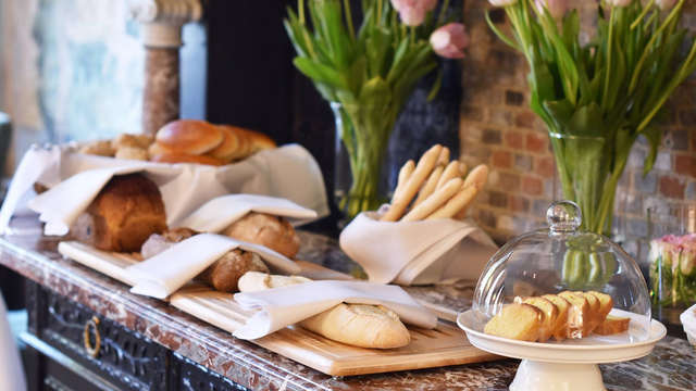 Hotel de Tuilerieen - buffet
