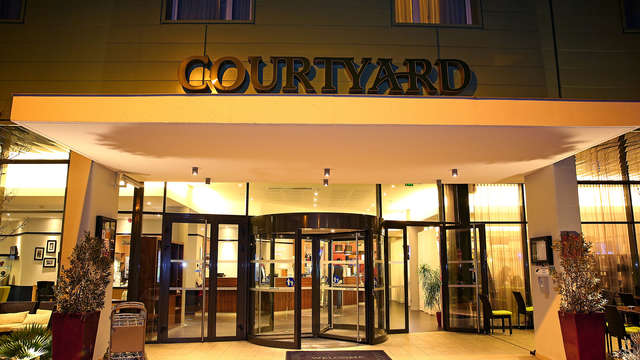 Hotel Courtyard By Marriott Toulouse Airport - Entrance