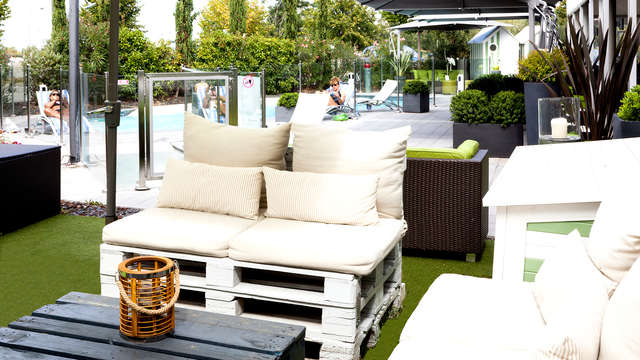 Hotel Courtyard By Marriott Toulouse Airport - Terrace