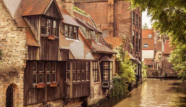 Détendez-vous à Bruges, la Venise du nord (à partir de 2 nuits)