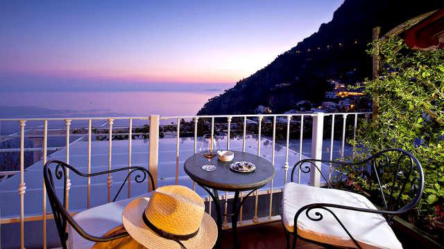 La beauté de Positano avec vue sur la mer