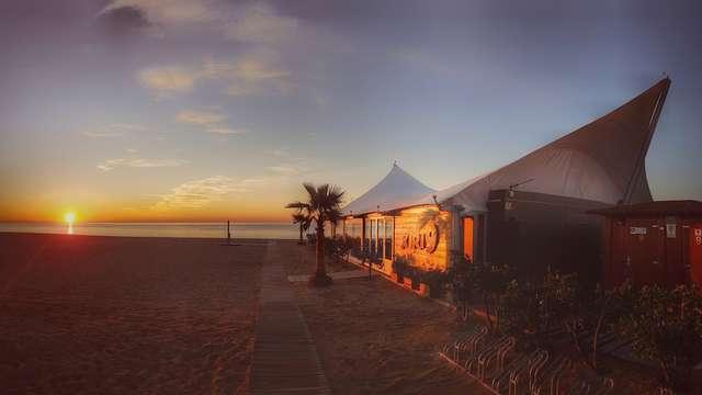 Accès à la plage (service de plage inclus)