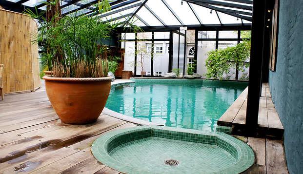 Hotel Die Swaene - pool