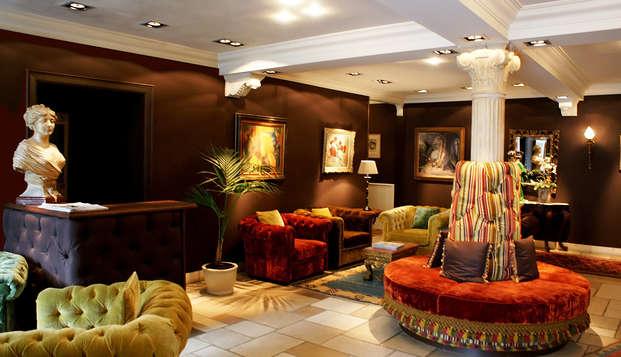 Hotel Die Swaene - reception