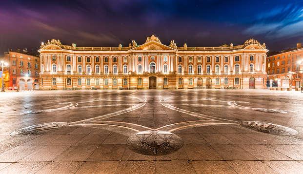 Week-end de charme à deux pas du Capitole à Toulouse