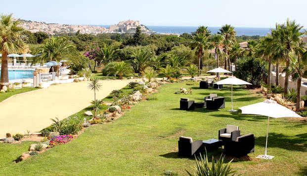 Hotel Corsica - Garden