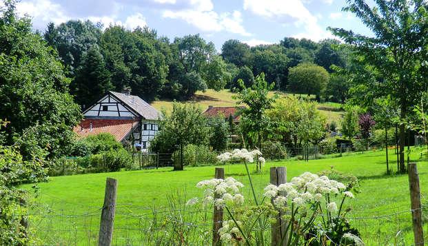Exclusieve aanbieding: Weekendje weg met diner in Limburg