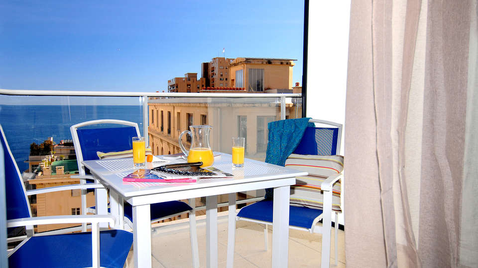 Appart'hôtel Prestige Odalys Les Hauts de la Principauté - Edit_Terrace2.jpg