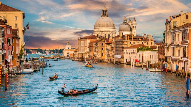 Vacances de rêve au centre de Venise avec petit-déjeuner