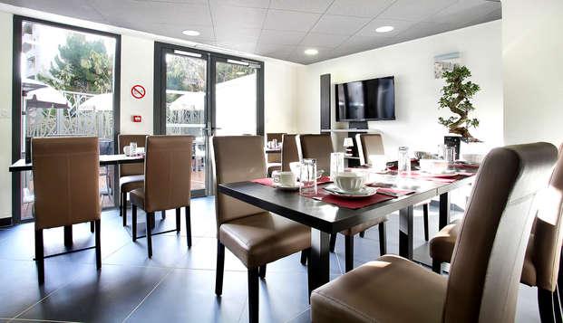 Appart Hotel Odalys Prado Castellane - Restaurant