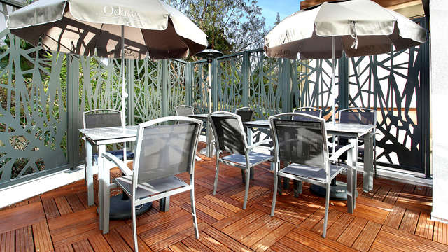 Appart Hotel Odalys Prado Castellane - Terrace