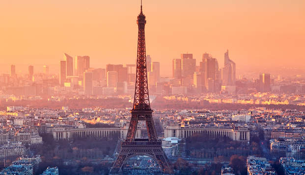 Week-end coquin avec Lovebox, champagne et vue panoramique sur Paris