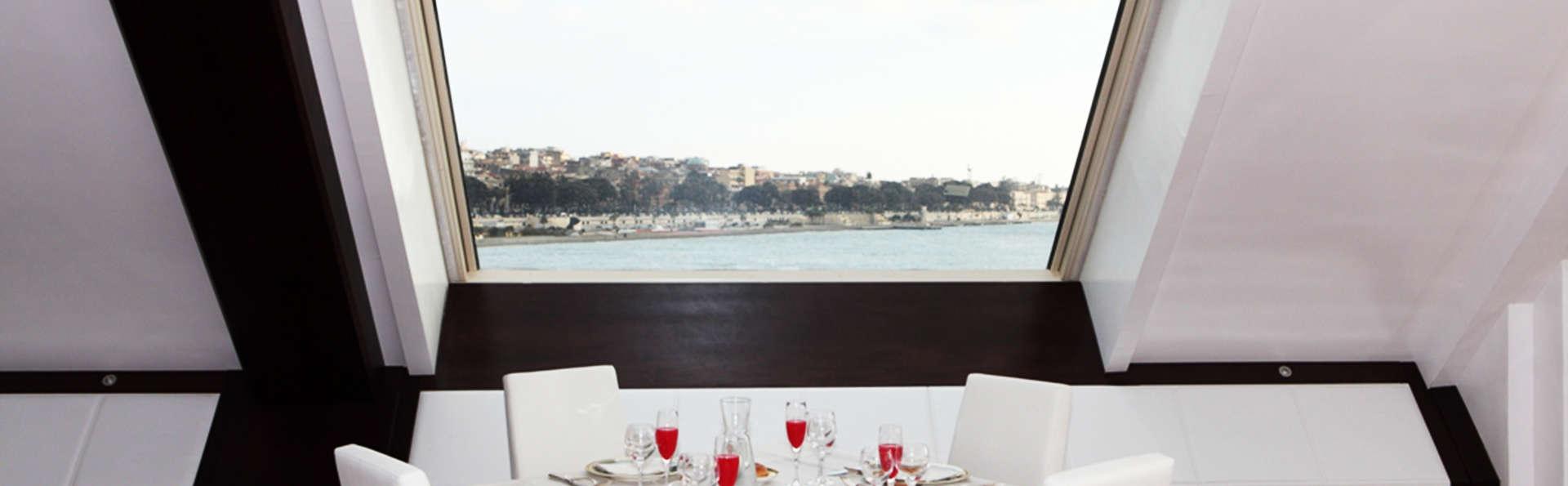 Descanso y media pensión a orillas del mar en Calabria