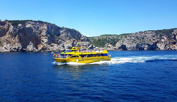 Escapada con crucero por les Illes Medes y detalles románticos en la costa Mediterránea