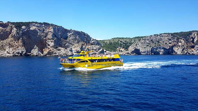 Appartement pour 4 à L'Escala avec promenade en bateau aux Îles Medes
