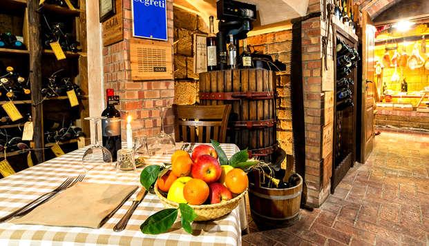 Soggiorno alle porte di Napoli con cena deliziosa