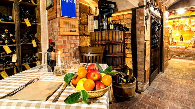 Aux portes de Naples avec un savoureux dîner