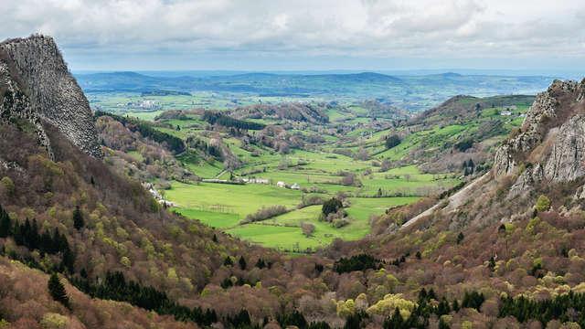 Mise au vert dans le Parc des Volcans d'Auvergne