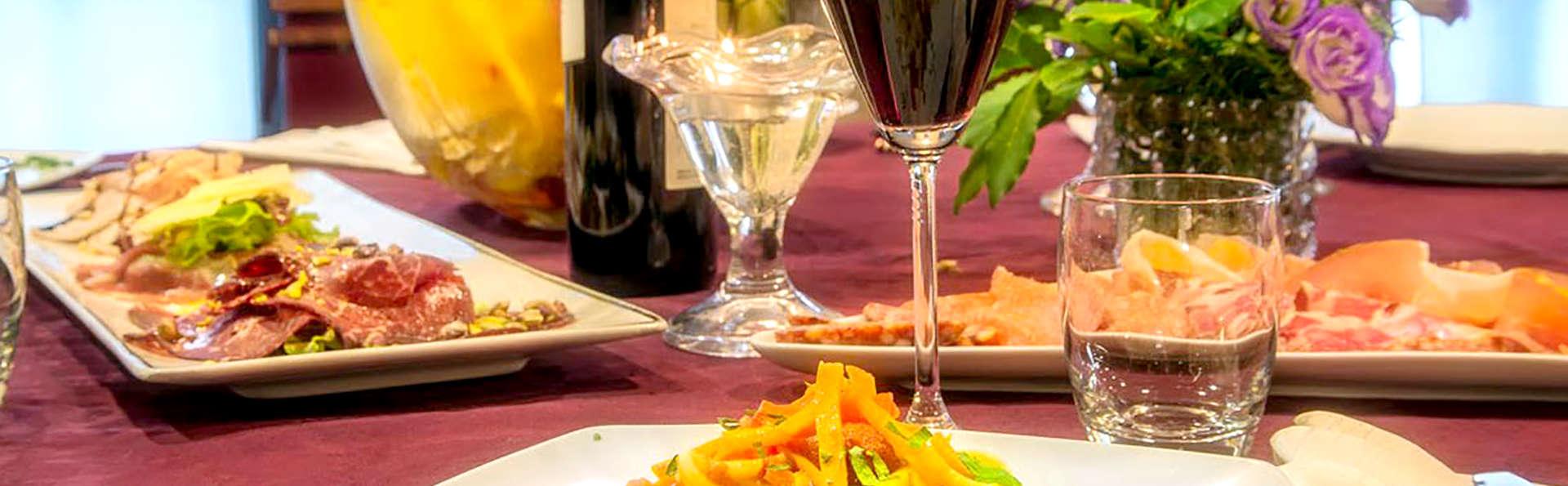 Soggiorno con cena a due passi dal centro di Gubbio