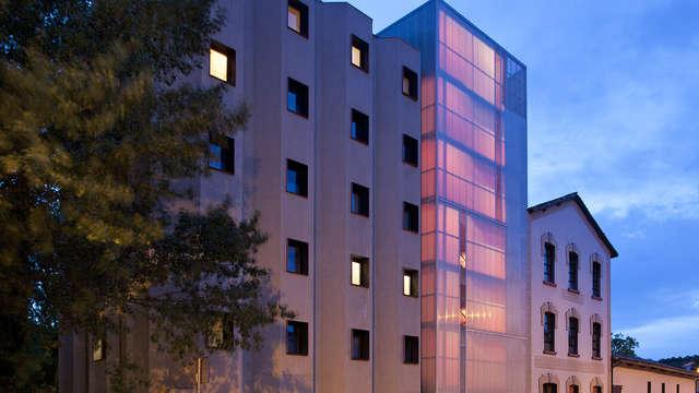 Escapada Enológica en un hotel de diseño con vistas al río Ega