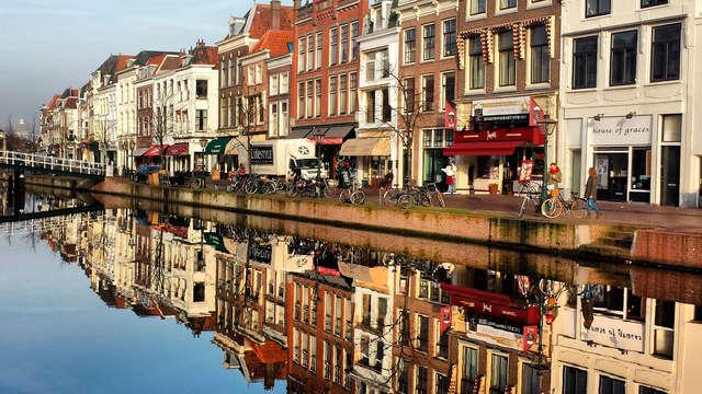 Heerlijk verblijf in het centrum van Leiden vol comfort en gemak