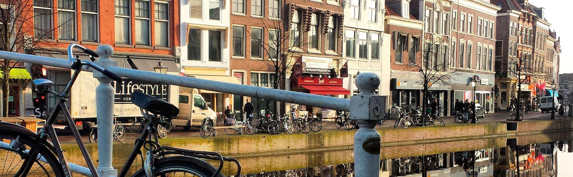 Découvrez la jolie ville de Leiden à vélo