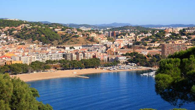 Vacaciones Perfectas en Pensión completa y acceso al spa en Sant Feliu de Guíxols (desde 3 noches)