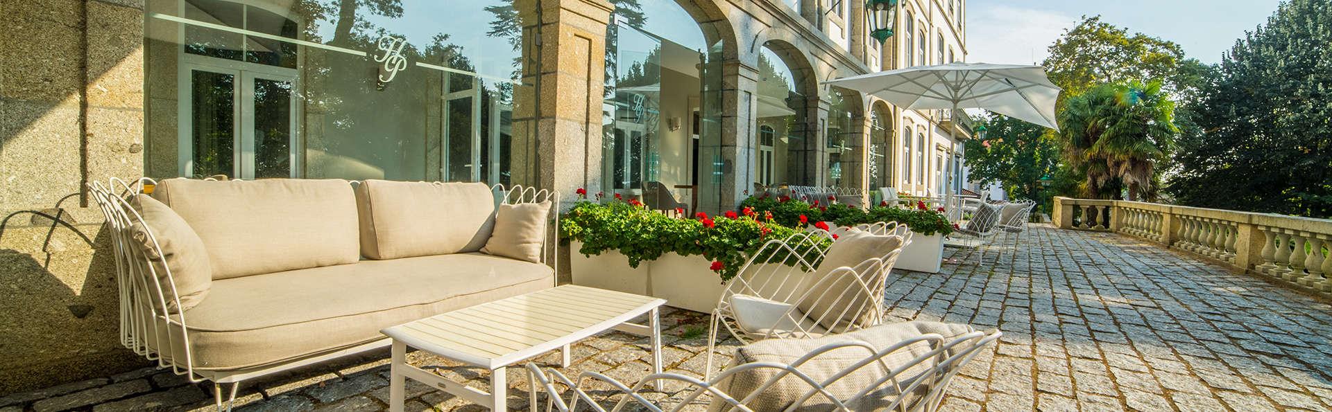 Minivacaciones de lujo en Braga con acceso al Spa en un hotel rodeado de jardines (desde 3 noches)