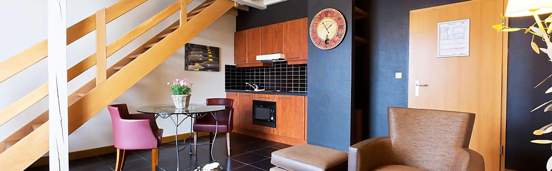 Week-end dans une suite deluxe dans une ancienne brasserie entre Nivelles et Soignies