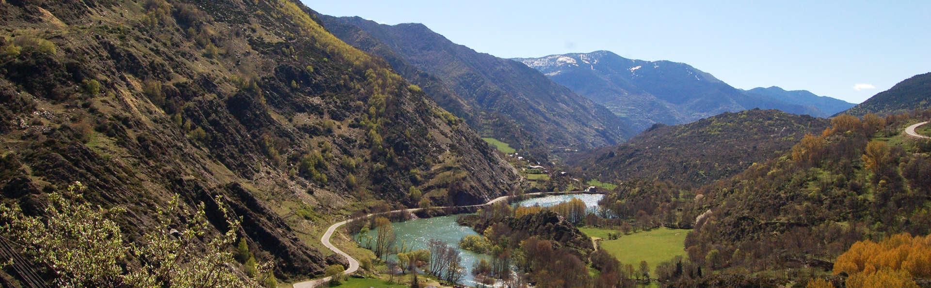 Week-end romantique dans un appartement de luxe au coeur des Pyrénées catalanes