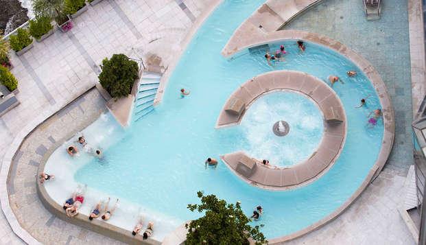 Relax total: Descansa en un hotel 4* delante de Caldea y disfruta del acceso al centro termolúdico