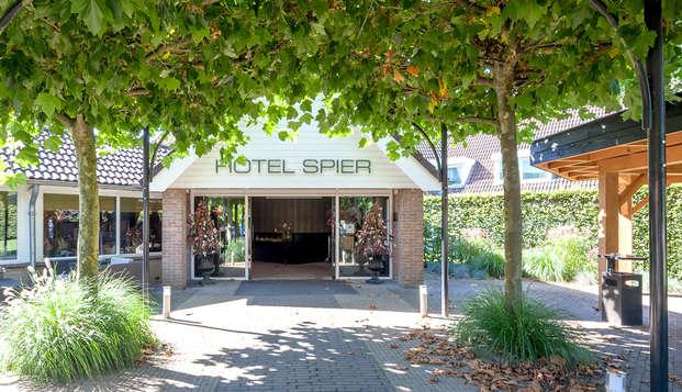 Luxe, comfort en kamer met boszicht in het prachtige Drenthe