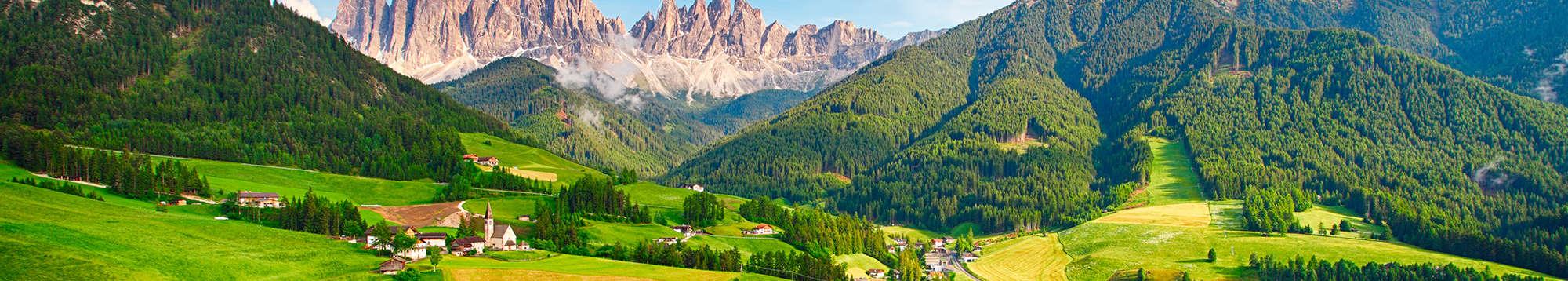 Week end e soggiorni nelle Dolomiti