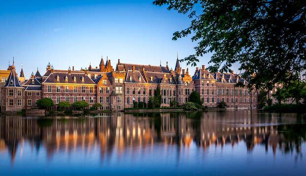 Disfruta del lujo y descubre La Haya en bicicleta o en transporte público (desde 2 noches)