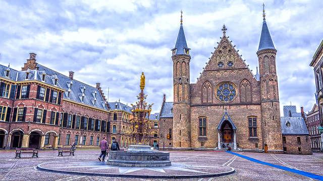 Découvrez La Haye depuis un bâtiment historique en plein centre-ville