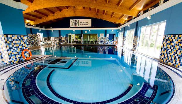 Pensión Completa y acceso diario al circuito termal en este exclusivo balneario