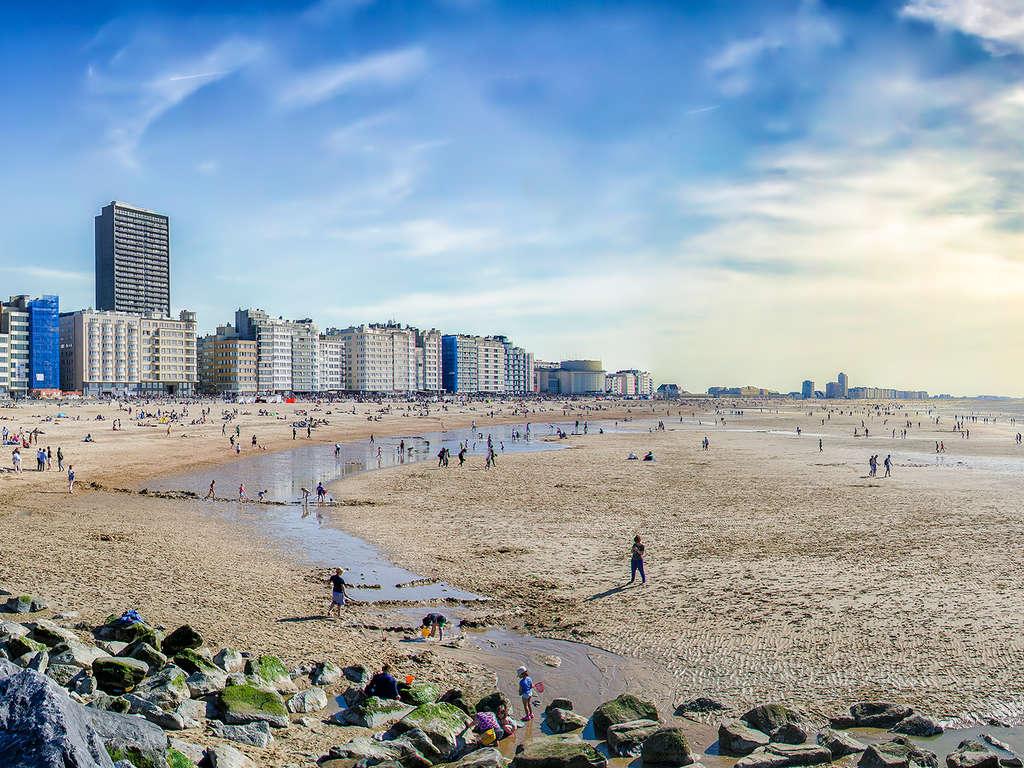 Profitez de la plage sur la côte belge 3* - 1