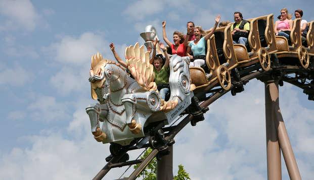 Week-end aventure avec entrée au plus grand parc Européen : Europa-Park!