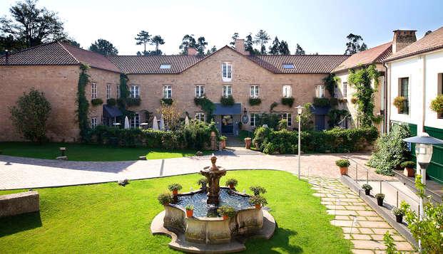 Escapada cerca de Santiago en un hotel ecológico del s. XVIII