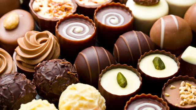 boîte de chocolats en chambre