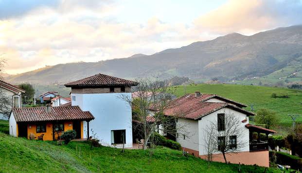 Escapada Rural en plena naturaleza con Cena típica y cata de productos asturianos (desde 2 noches)