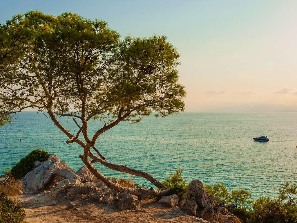 Séjour Espagne - Détente face à la mer avec verre de bienvenue sur la Costa Brava à deux pas de Calella