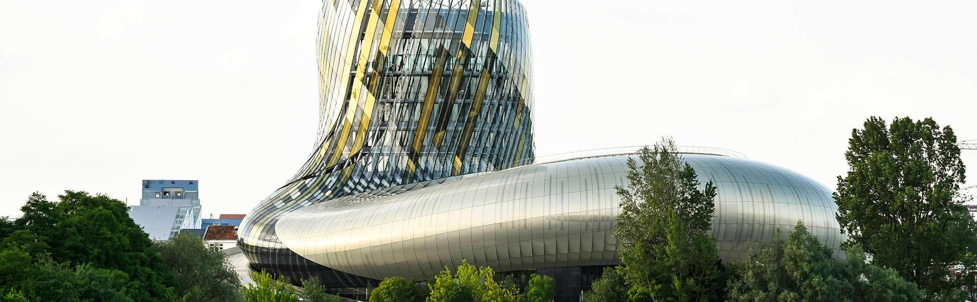 Week-end découverte avec entrée à la Cité du Vin de Bordeaux