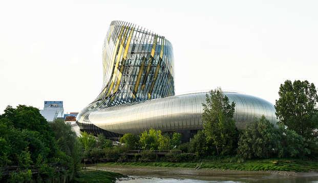 Week-end près de Bordeaux avec entrée à La Cité du Vin