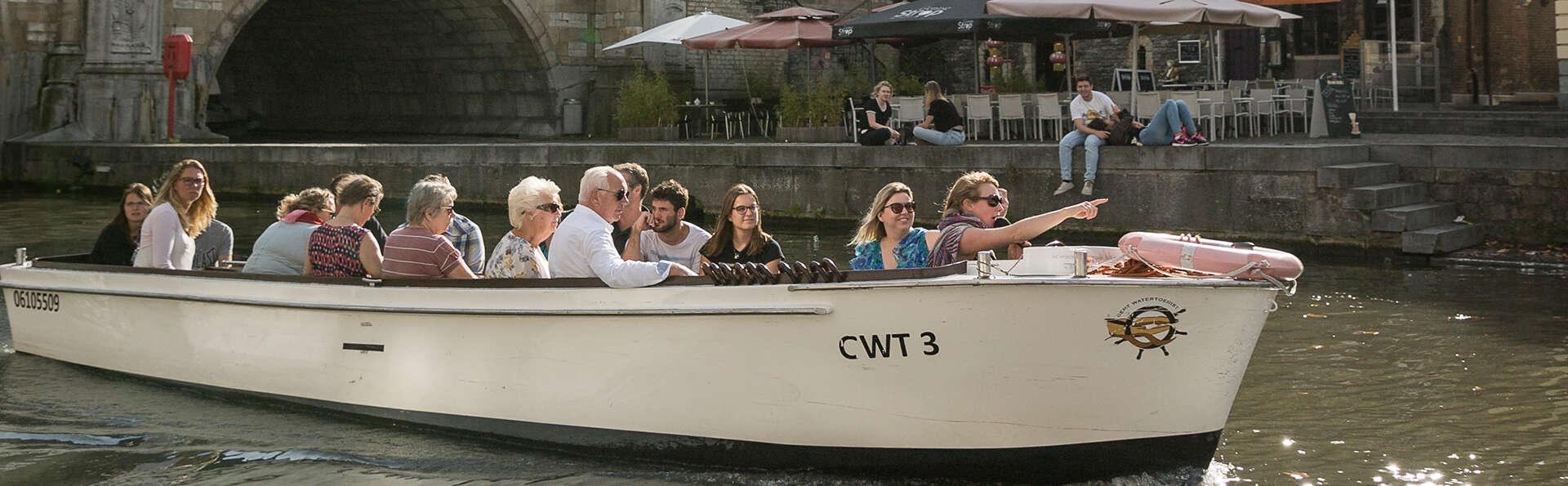 Séjour confort à la découverte de Gand avec balade en bateau incluse