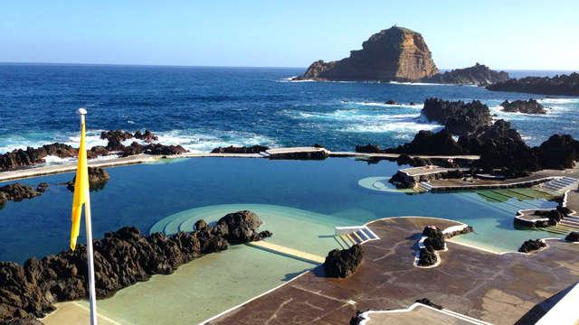 Escapada relax con copa de bienvenida en Madeira