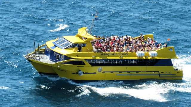 Mer et aventure : Croisière et vues sous-marine sur a Costa Brava