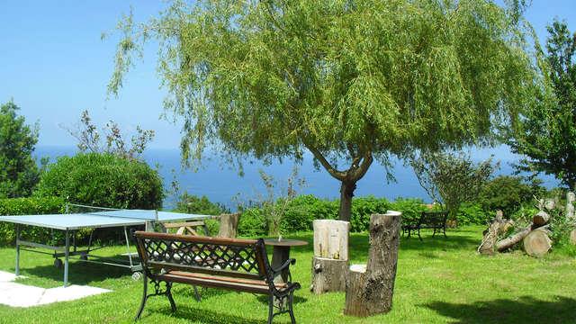 Escapada romántica en la Reserva de la Biosfera de Urdaibai con maravillosas vistas a la Costa Vasca