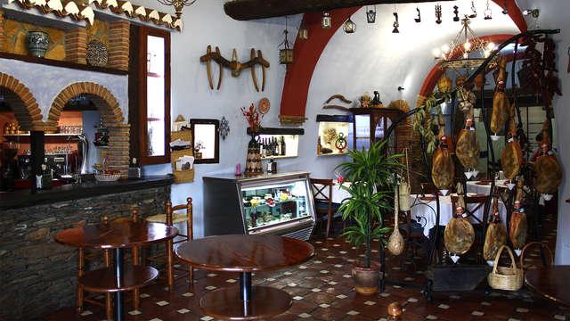 Romántica con cena y encanto en Casa Cueva de Guadix