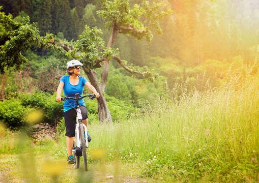 Mountainbike beschikbaar voor 2 volwassenen
